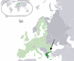 Location Of Greece